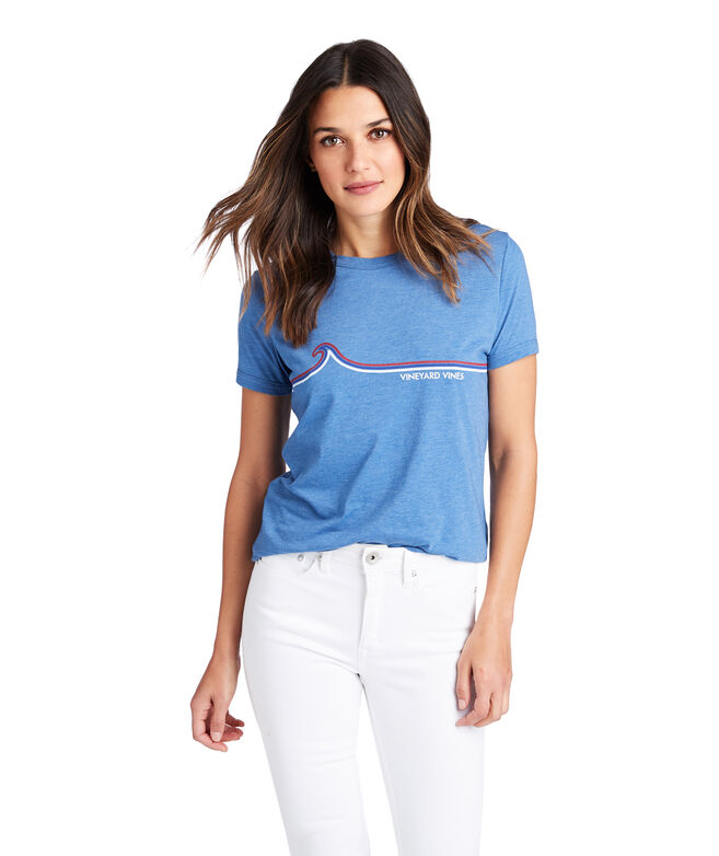 Linear Waves Ringer Tee