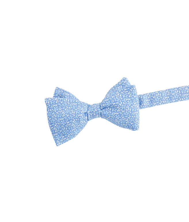 Spring Flowers Printed Bow Tie