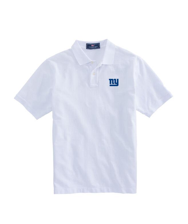 New York Giants Stretch Pique Polo
