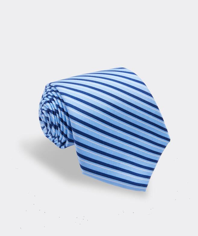 Vineyard Stripe Printed Tie