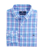 Terrapin Plaid Classic Tucker Shirt