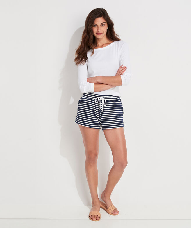 Dreamcloth Striped Pull-On Shorts