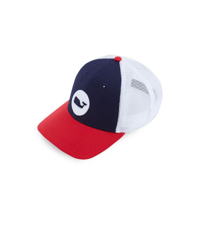 Low Pro Whale Dot Trucker Hat