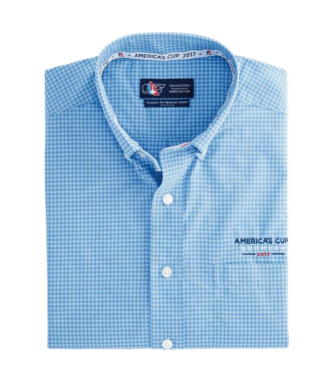 882e62eac7 America's Cup Micro Gingham Murray Shirt