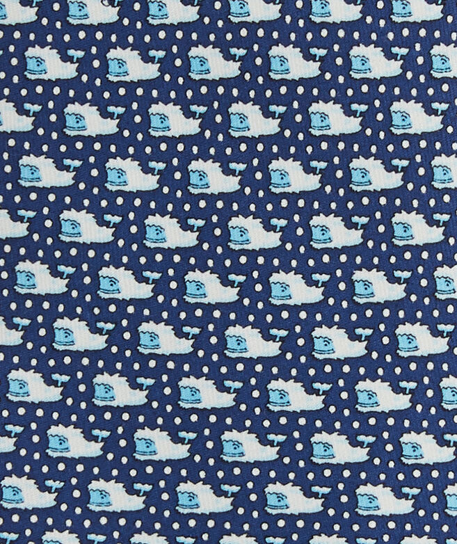Yeti Whale Printed Tie
