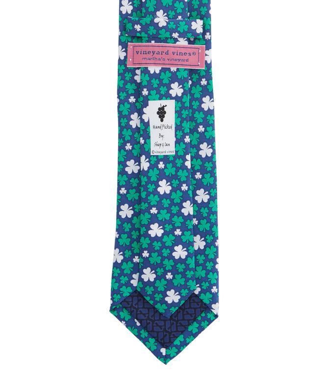 Clover Toss Tie