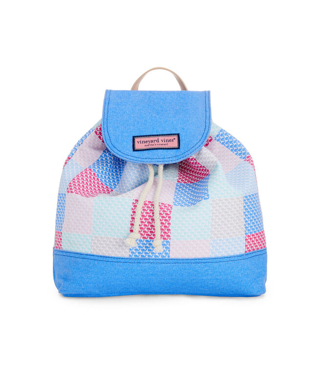 Girls Canvas Patchwork Daypack