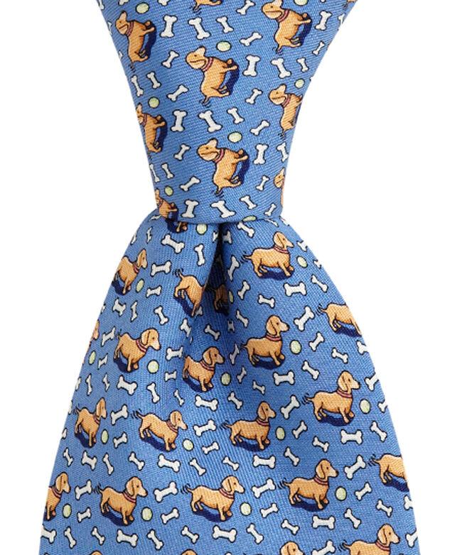Dachshund Printed Tie