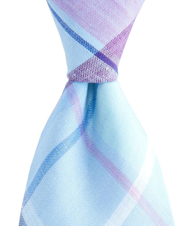 Linen Plaid Shirting Tie