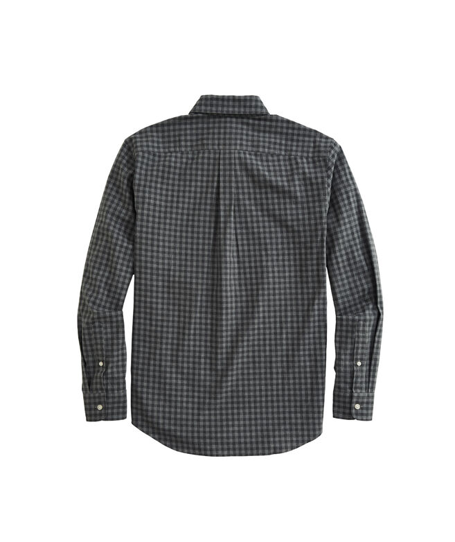 OUTLET Classic Fit Sycamore Check Poplin Whale Shirt