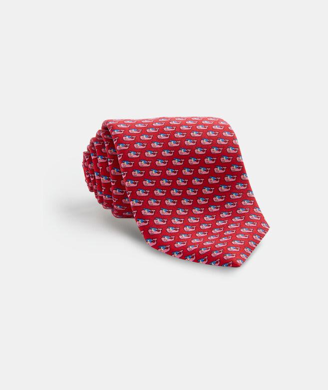Grad Whale 2020 Printed Tie