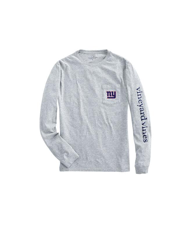 New York Giants Long-Sleeve EDSFTG T-Shirt
