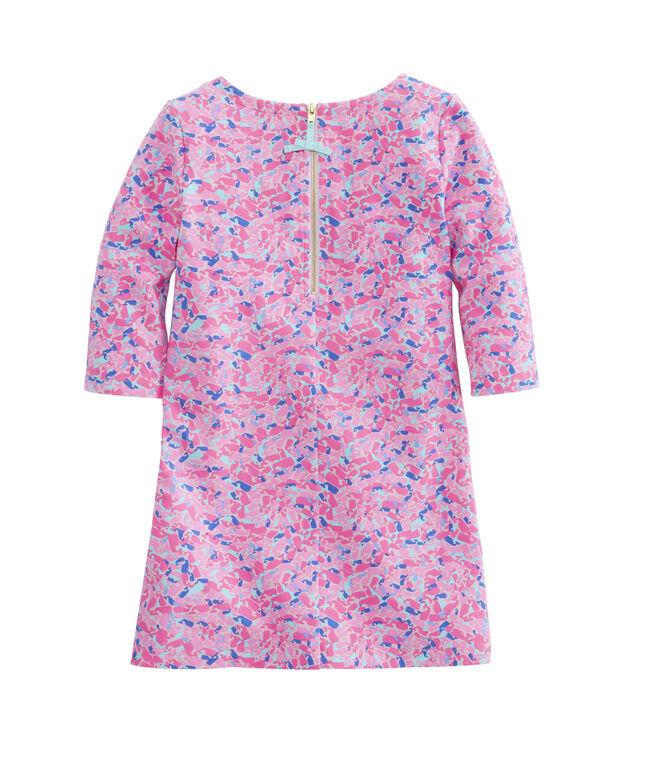 Girls Whale Swirl Tisbury Dress