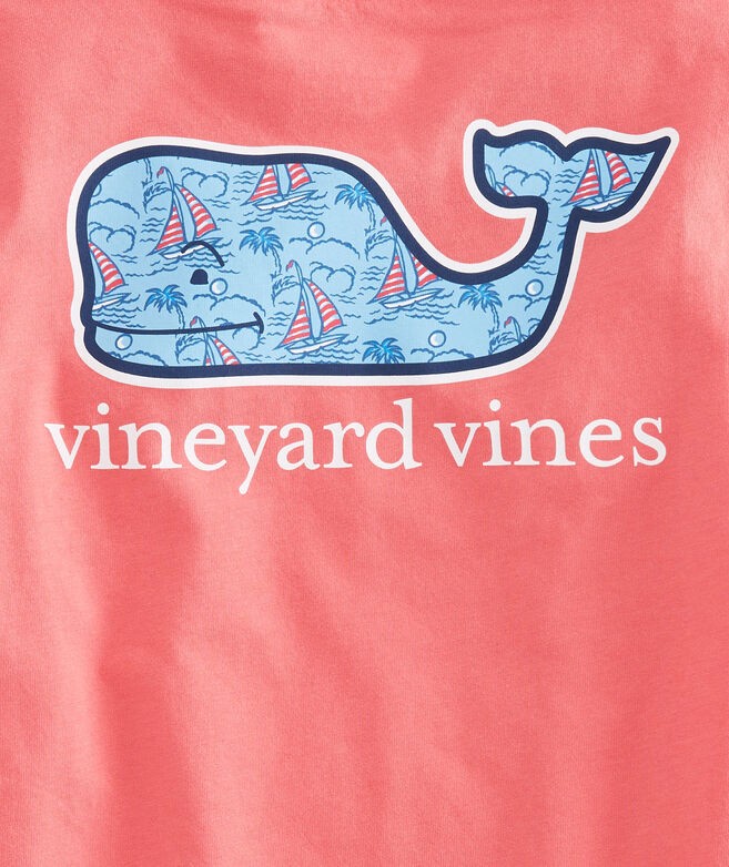 Boys Sailboat Whale Fill T-Shirt