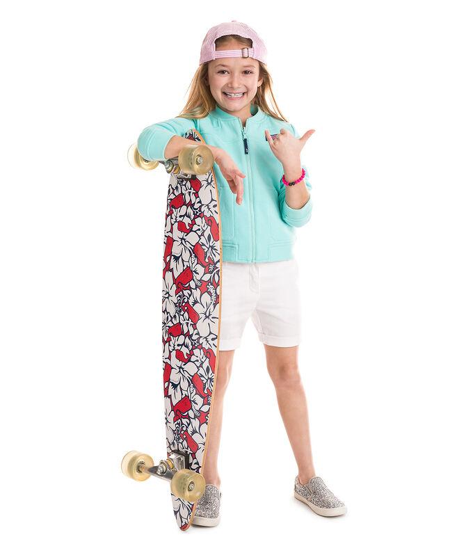 Girls Reversible Bomber