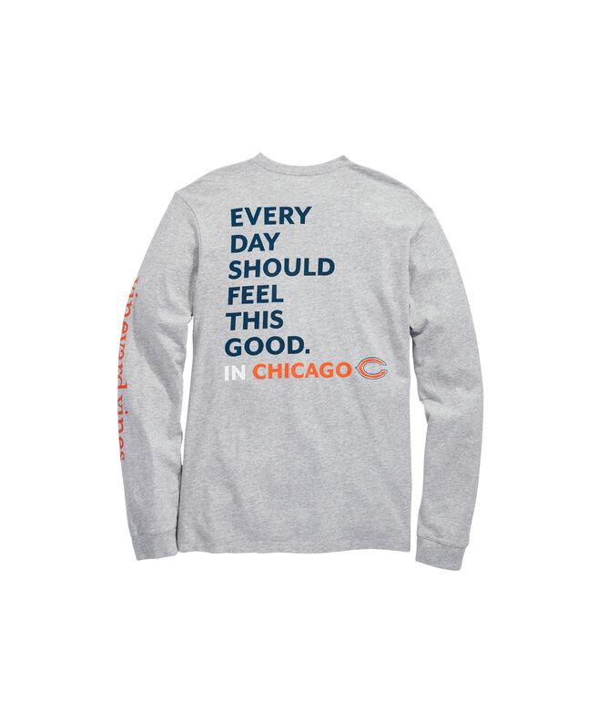 Chicago Bears Long-Sleeve EDSFTG T-Shirt