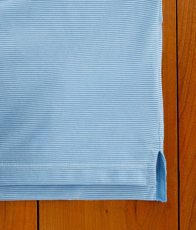 Boys Carmel Micro Stripe Polo