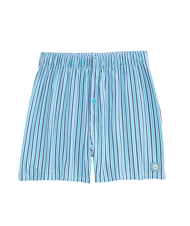 Multi Cationic Stripe Performance Boxers