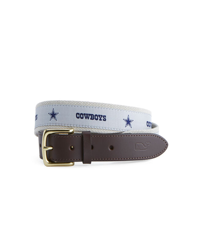 Dallas Cowboys Canvas Club Belt
