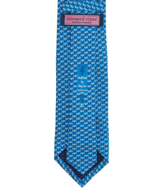 Chip In Geo Printed Tie