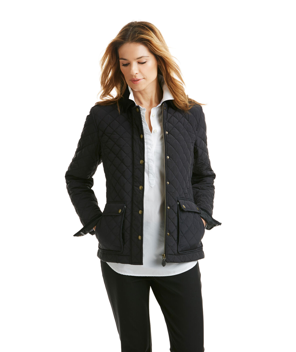 Shop Quilted Jacket at vineyard vines : quilted fall jacket - Adamdwight.com