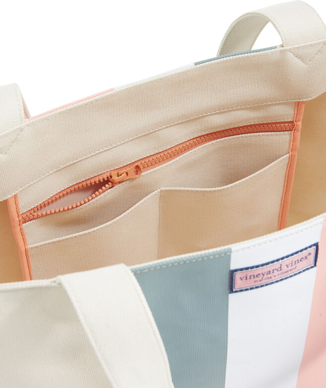 Tri Stripe Tote Bag