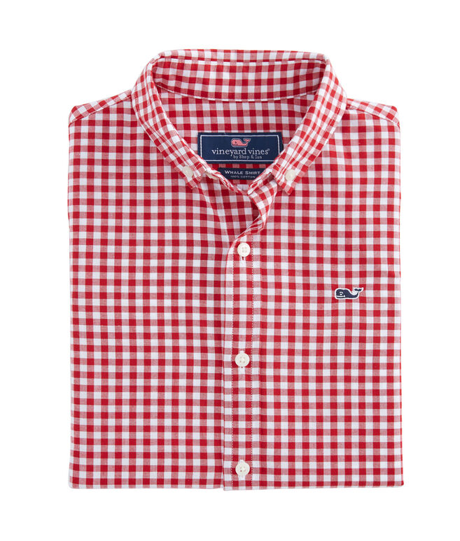Boys Rockridge Poplin Whale Shirt