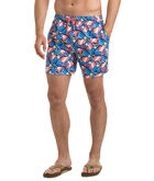 Flippers Print Chappy Trunks