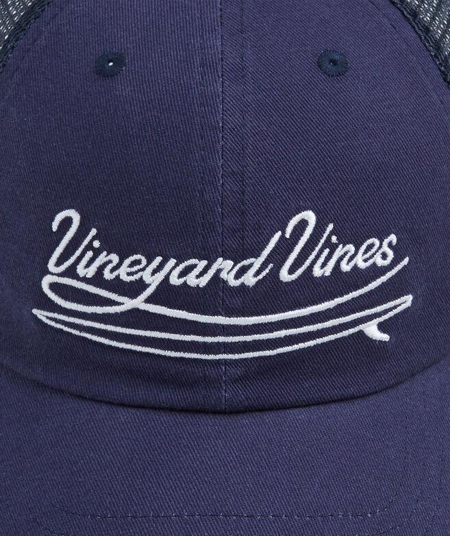 Embroidered Vineyard Trucker Hat