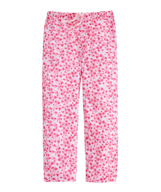 Girls Hearts & Whales Lounge Pants