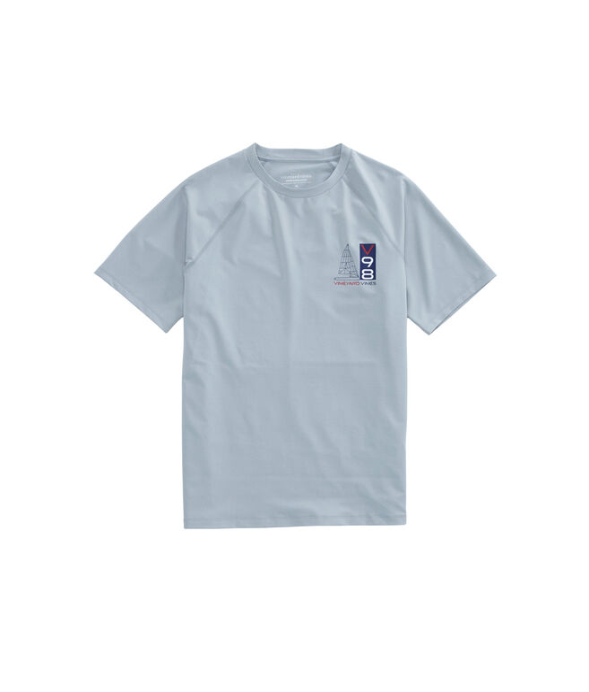 Performance Raglan Blueprint Sail T-Shirt
