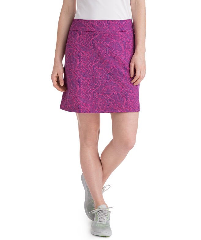 Linear Tropic Golf Skort