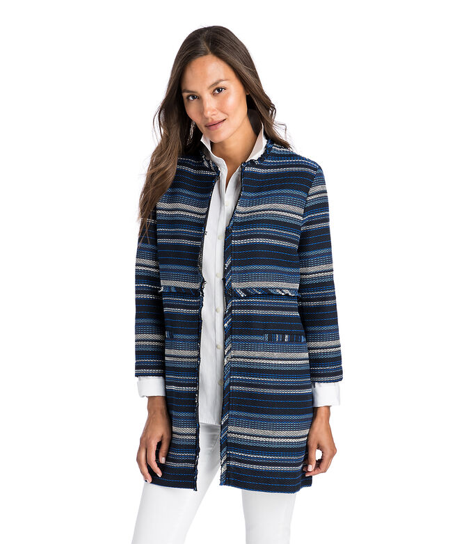 Striped Woven Jacket
