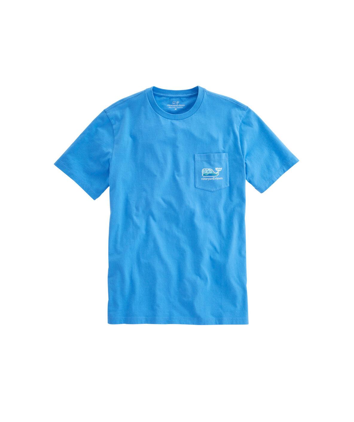 Shop fish lighthouse pocket t shirt at vineyard vines for Vineyard vines fishing shirt