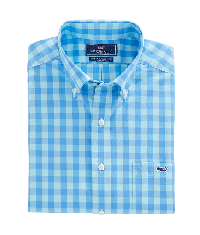 Astarboard Check Slim Tucker Shirt