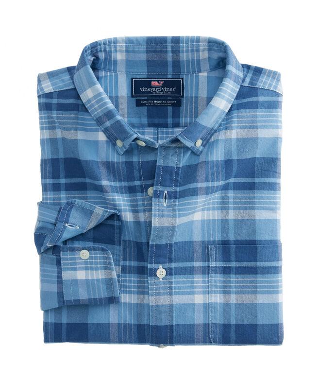 Abacos Plaid Slim Murray Shirt