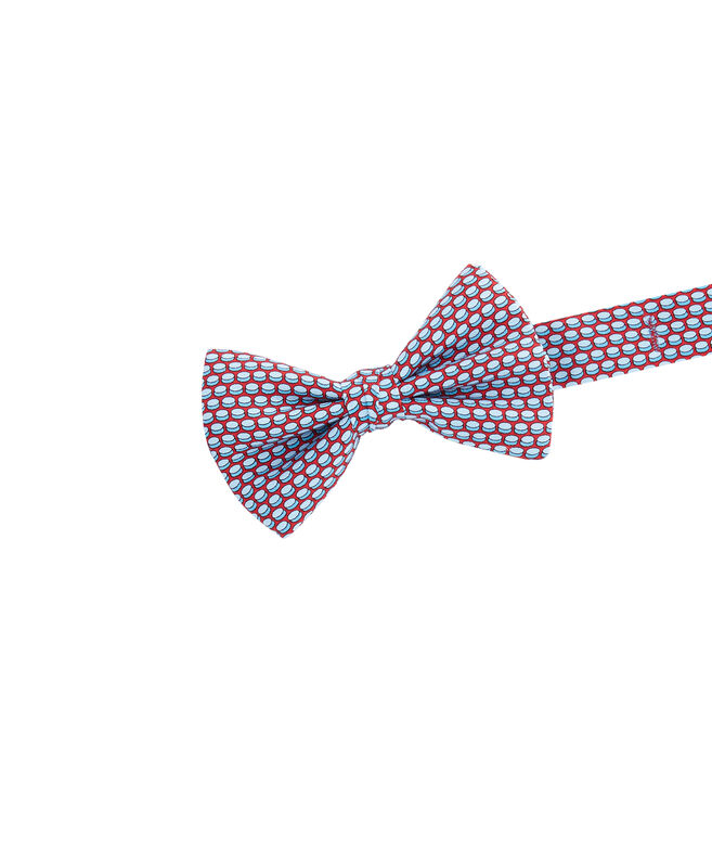 Boys Hockey Puck Geo Bow Tie