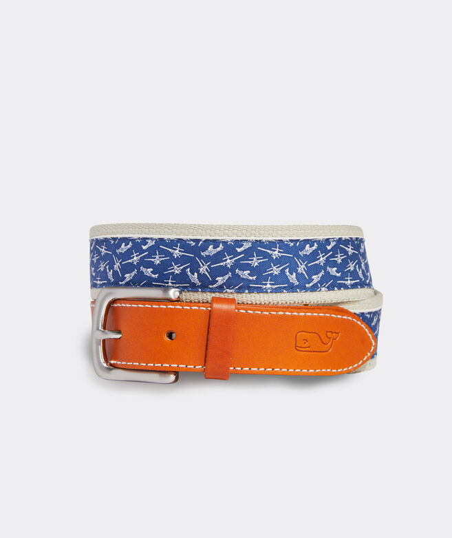 Seaplane Canvas Club Belt