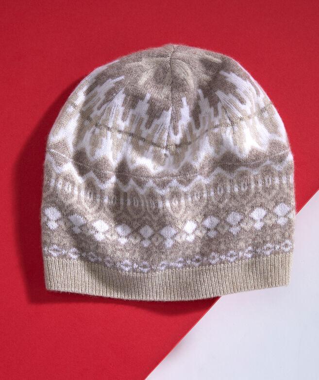 Luxe Fair Isle Hat