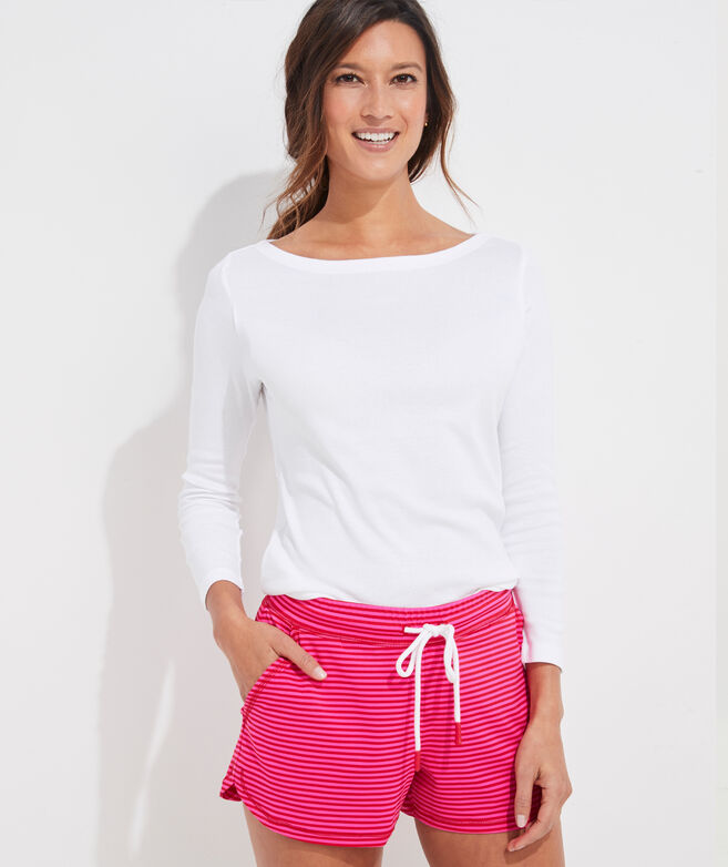 Striped Lightweight Sankaty Shorts