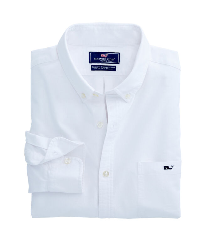 Solid Oxford Slim Tucker Shirt