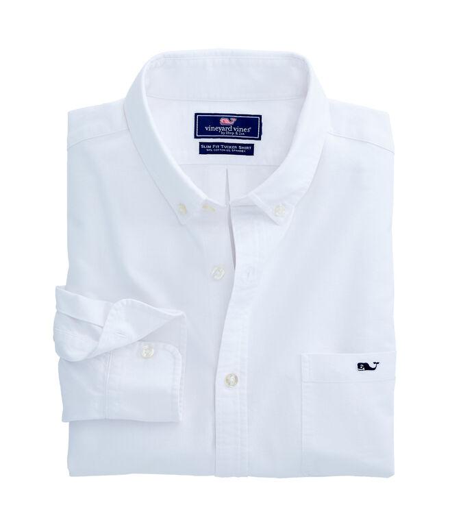 Solid Oxford Slim Tucker Shirt