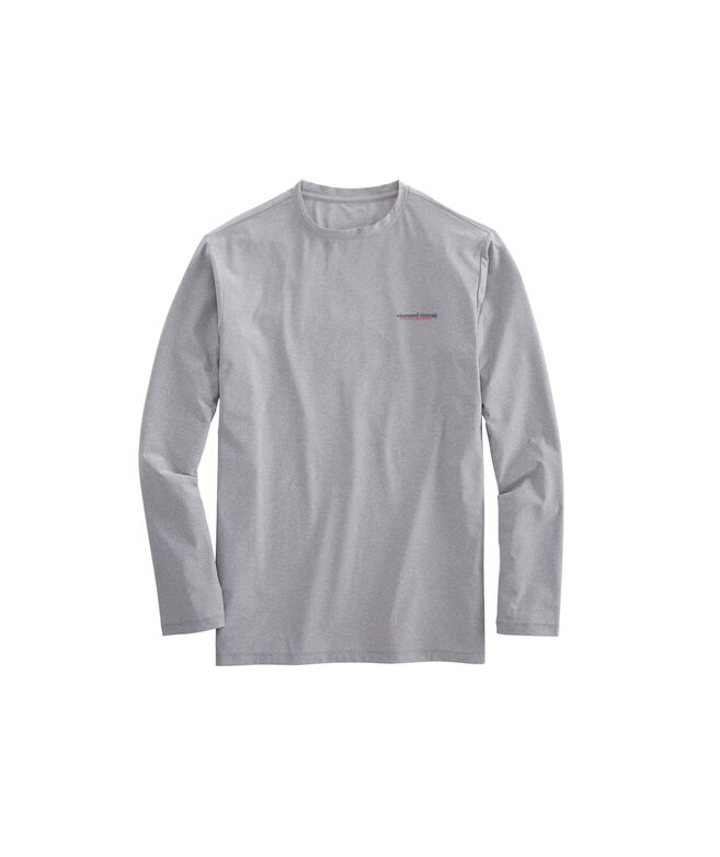Long-Sleeve Performance Catch Release Tuna T-Shirt