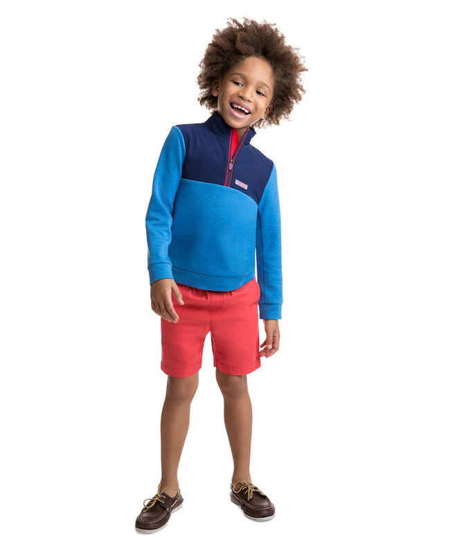 Boys Performance Mesh Shep Shirt