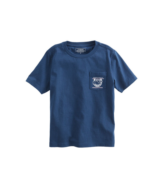 Boys Kentucky Derby Logo Pocket T-Shirt