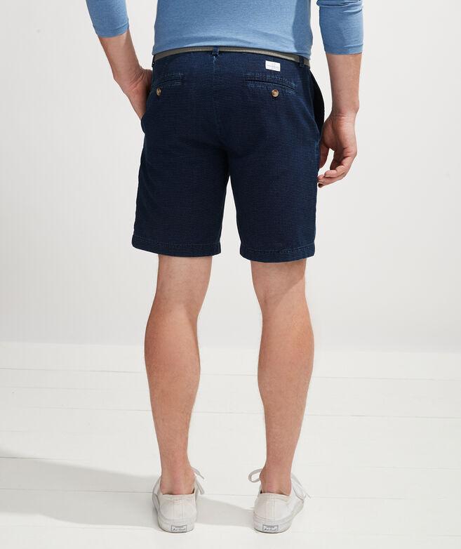 9 Inch Indigo Dobby Breaker Shorts