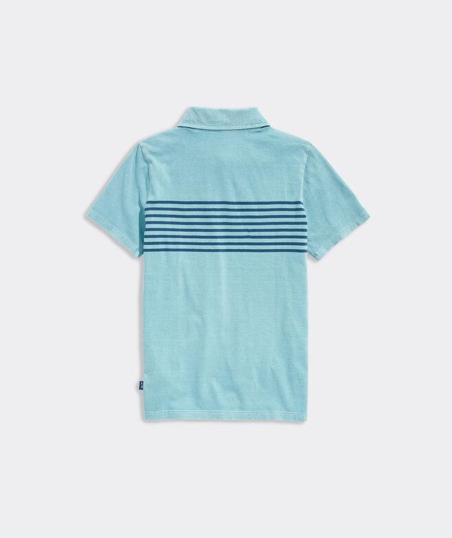 Boys' Chest Stripe Island Polo