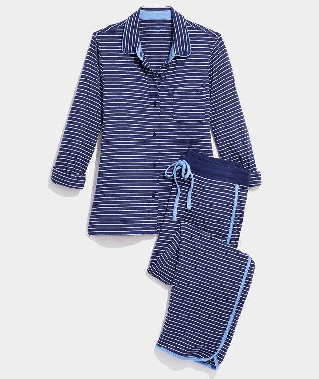 Super Soft Striped Knit Lounge Set