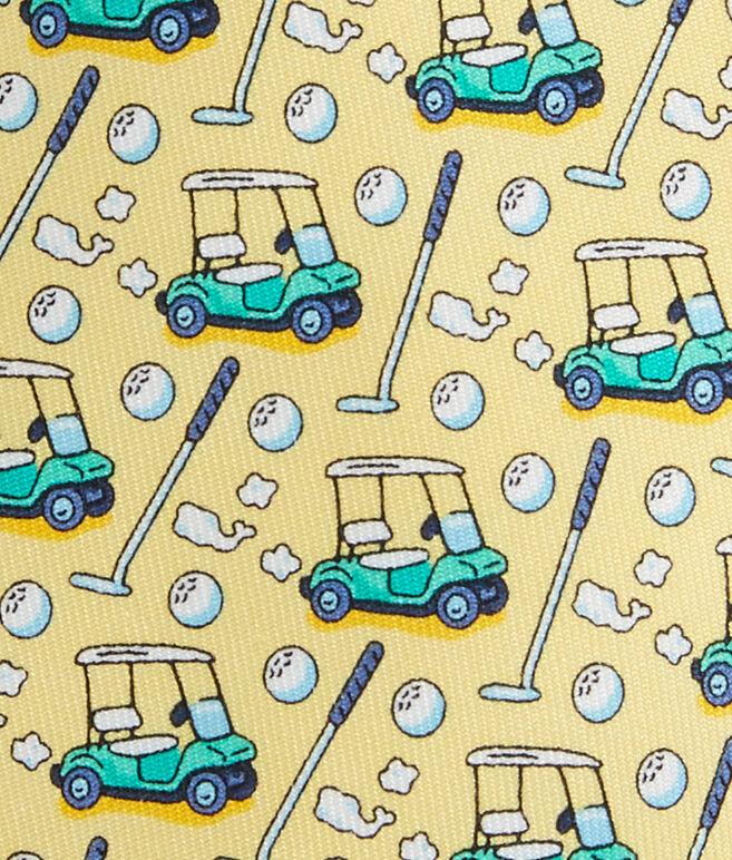 Boys Golf Cart Tie