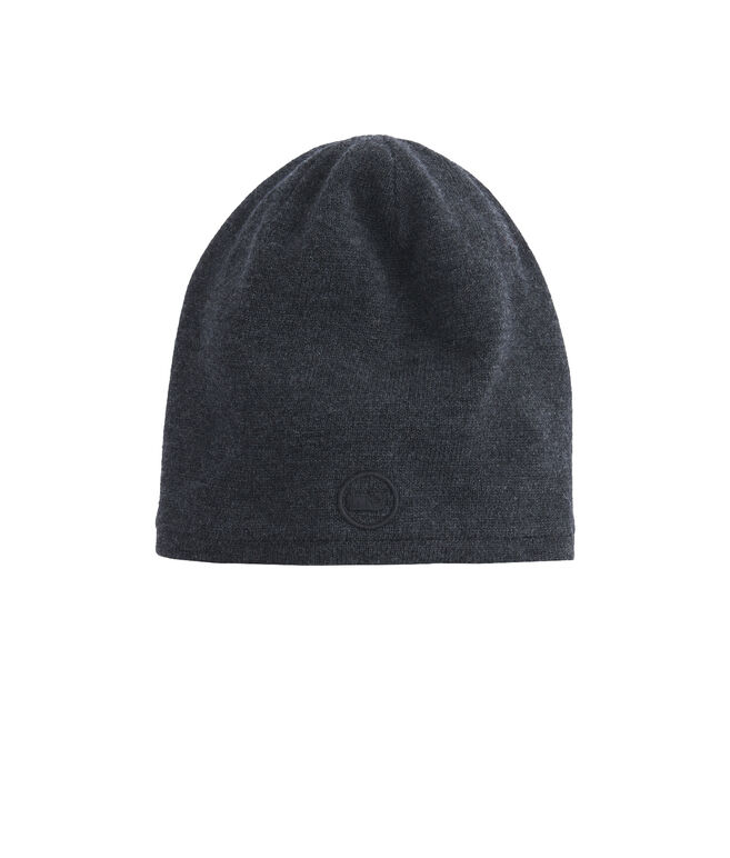 Performance Whale Embroidered Knit Hat